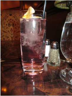 Rose soda from Carthay Circle Theater