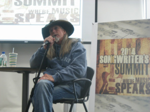 Dean Dillon at the Songwriter's Summit Students' Workshop