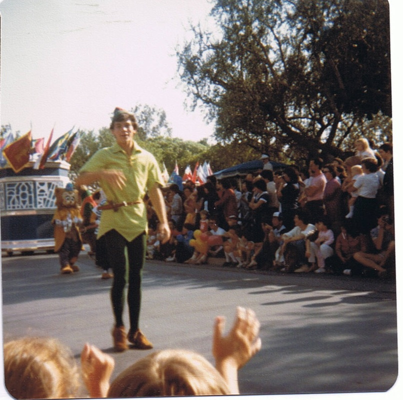 Peter Pan on parade in 1982